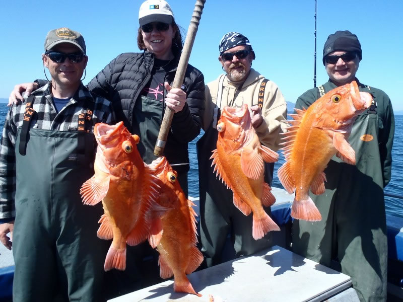 Southeast Alaska Salt Water Fishing